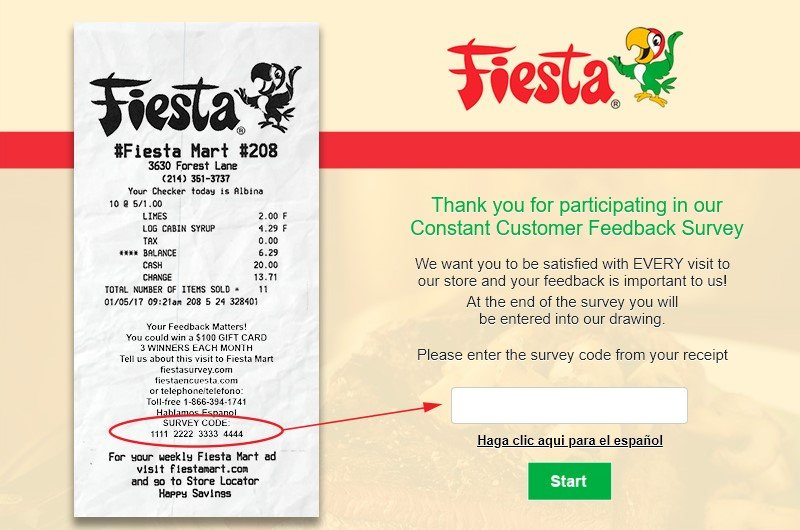 FiestaSurvey.com