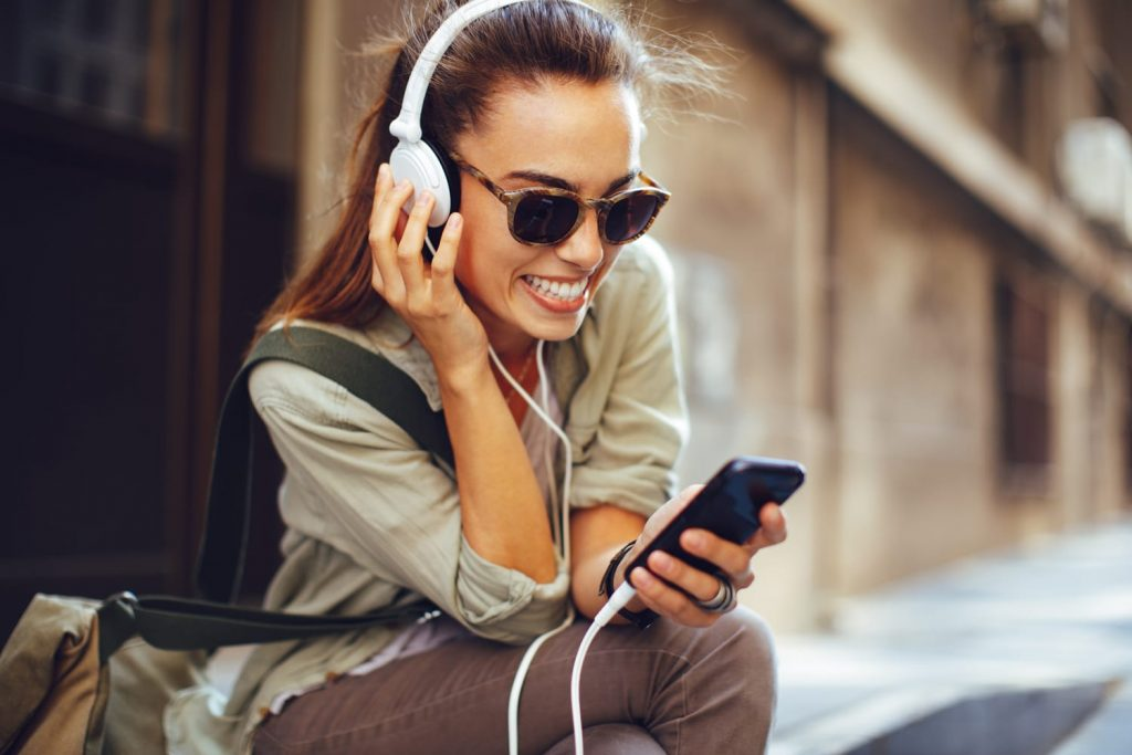 Listen to Music While Traveling