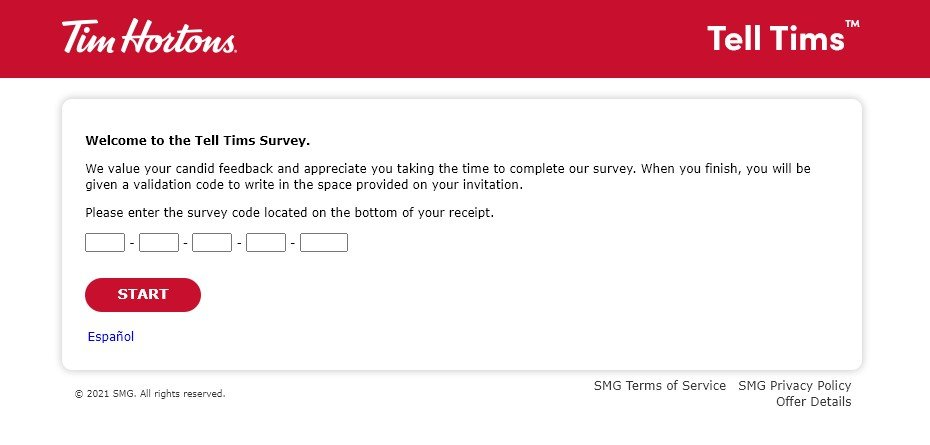 TellTims Survey