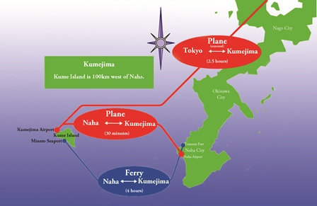Okinawa Islands Map