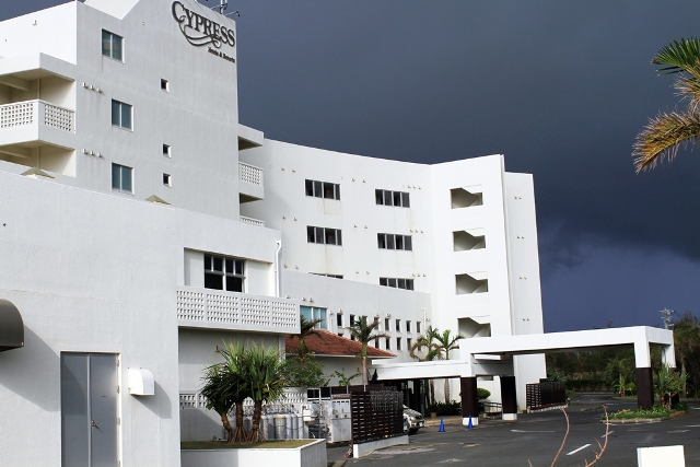Cypress Hotel Front