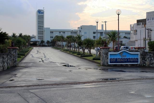 Eef Beach Hotel Front