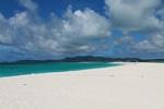 Hateno Beach with Kume Island in the background