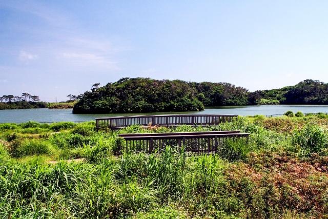 Kanshin Dam Lake View