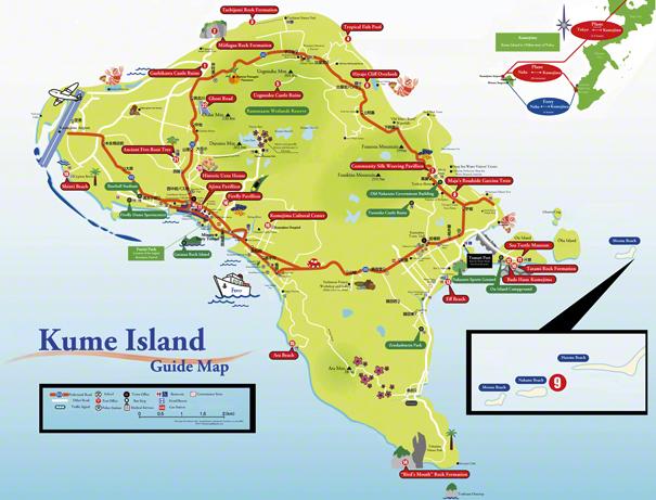 Small Kumejima Map