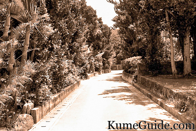 A road next to Tenkougu