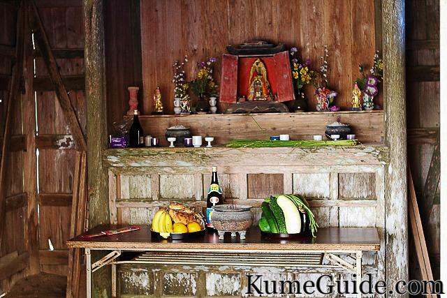 Maja Sumo Shrine Interior