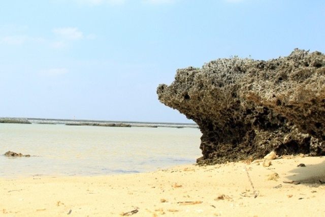 Shinri Beach Rocks