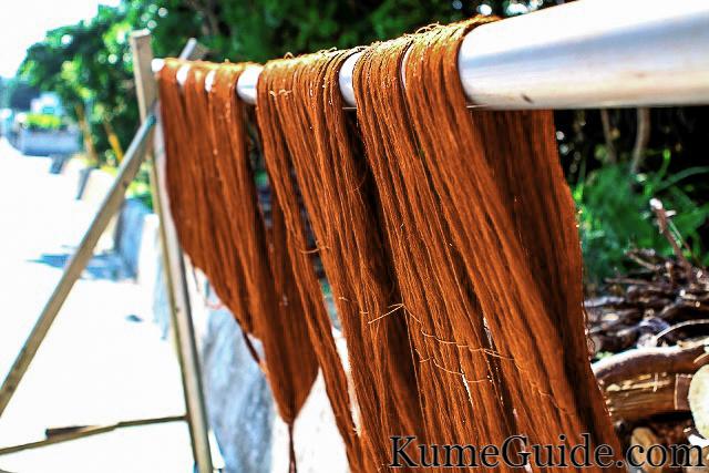 Tsumugi Dyed Thread