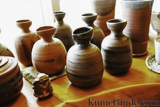 Pottery at Yachimun