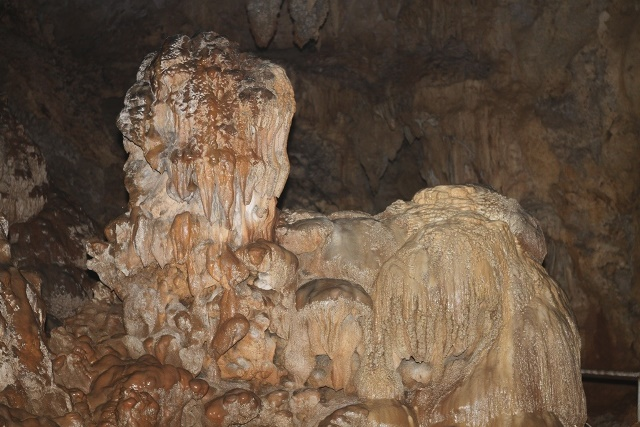 Rock Formation that looks like a shisa