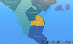 Zenda Area Map