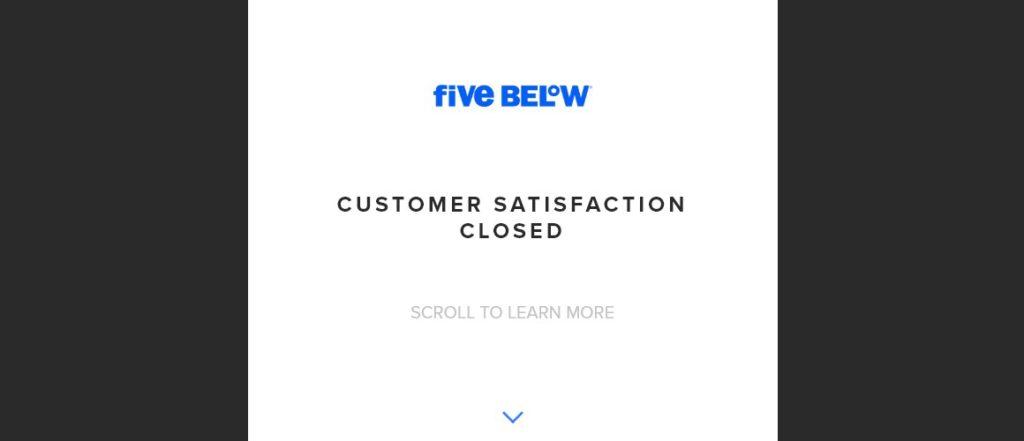 www.FiveBelowSurvey.com_