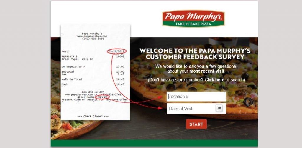 www.PapaSurvey.com
